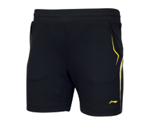 Badminton Clothing Kid's Shorts NATIONAL TEAM [BLACK] AAPJ122-2