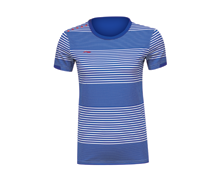 Badminton Clothing Women's T-Shirt NATIONAL TEAM [BLUE] AAYK028-3