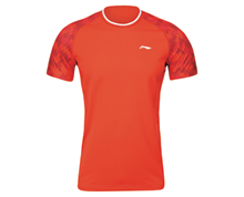 Badminton Clothing Women's T-Shirt TRAINING TEAM [RED] ATSJ322-4
