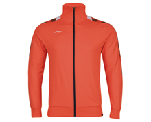 Badminton Clothing Men's Jacket PROVINCIAL TEAM [ORANGE] AWDJ157-2