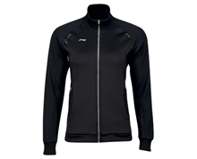 Badminton Clothing Women's Jacket NATIONAL TEAM [BLACK] AWDK116-2
