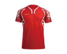 Badminton Clothes - Kid's T Shirt [RED]