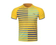 Men's Badminton T Shirt [YELLOW] AAYL119-1
