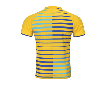 Men's Badminton T Shirt [YELLOW] AAYL119-1 image 2