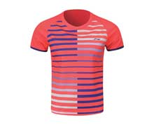 Men's Badminton T Shirt [PINK] AAYL119-3