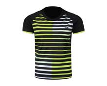 Men's Badminton T Shirt [BLACK] AAYL119-4