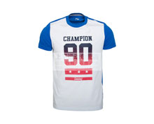 Buy Men's Casual T-Shirt [WHITE] GHSL027-3 for Badminton