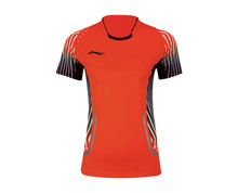 Badminton Clothes - Women's T Shirt [RED]