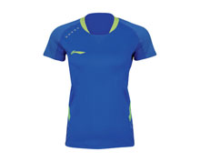 Women's Badminton T-Shirt [BLUE] AAYK004-2