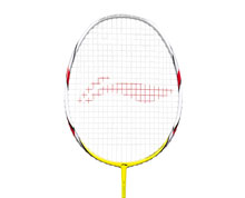 Badminton Racket - High Carbon 1600 [YELLOW]