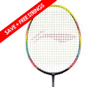 Badminton Racket - Windstorm 74 [YELLOW]