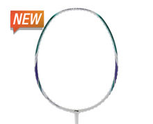 Buy Badminton Racket MEGA POWER HC 1800 [WHITE] for Badminton