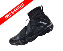 Badminton Shoes - Men's International [BLACK]