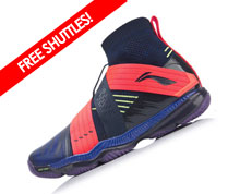 Badminton Shoes - Men's International [BLUE]