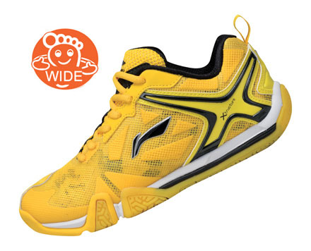 Men's Badminton Shoes [YELLOW] AYAL033-1