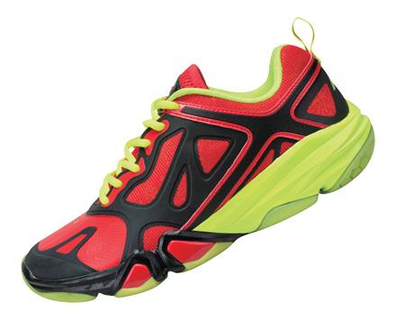 Men S Badminton Shoes Red Ayam001 3