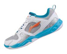 Men's Badminton Shoes [WHITE] AYTK035-1
