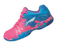 Women's Badminton Shoes [PINK] AYAL024-1