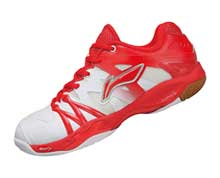 Women's Badminton Shoes [RED] AYAL024-2