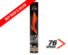 Badminton Shuttlecocks A+ 100 NATIONAL Grade [76] SINGLE Tube
