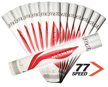 Badminton Shuttlecocks A+ 60 CLUB PLAY Grade [77] BUNDLE of 13