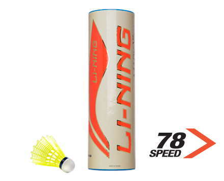 Badminton Birdies Mark X800 NYLON [FAST] SINGLE Tube