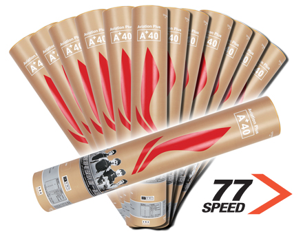 Badminton Shuttlecocks A+ 40 TRAINING Grade [77] BUNDLE of 13