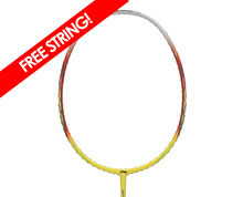 Badminton Racket - Windstorm 500 [YELLOW]