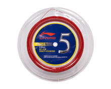 Badminton String No. 5 Reel [RED] AXJJ068-4