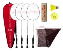 Badminton Set - PREMIUM Carbon Fiber 4 Racket