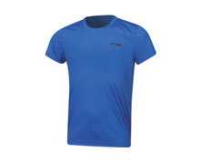 Badminton Clothes - Kid's T Shirt [BLUE]