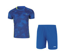 Badminton Clothes - Kid's Uniform [BLUE]