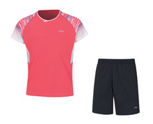 Badminton Clothes - Kid's Uniform [RED]