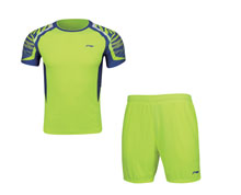 Men's Badminton Uniform [YEL] AATN013-3