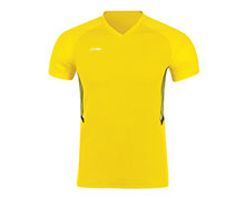 Buy Men's Badminton T Shirt  [YEL] AAYN165-4 for Badminton