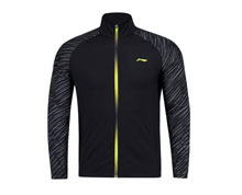 Men's Badminton Jacket  [BLACK] AWDN135-4