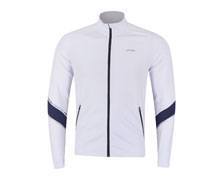Badminton Clothes - Men's Jacket  [WHITE]