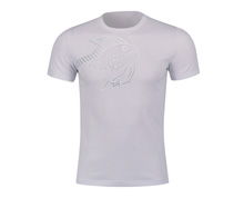 Badminton Clothes - Men's T Shirt [WHITE]