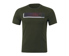 Badminton Clothes - Men's T Shirt [GREEN]