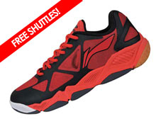 Badminton Shoes - Men's Recreational [RED]