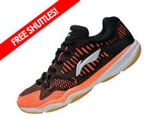 Badminton Shoes - Men's Recreational [BLACK]