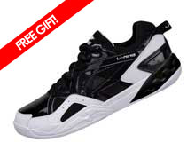 Badminton Shoes - Men's Training [BLACK]