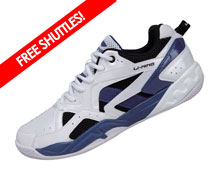 Badminton Shoes - Men's Training [WHITE]