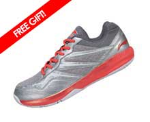 Badminton Shoes - Men's Training [GREY]