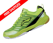 Badminton Shoes - Men's National [GREEN]
