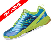 Badminton Shoes - Men's National [BLUE]