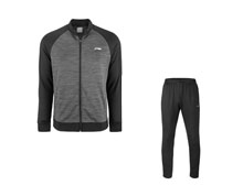 Badminton Clothes - Men's Warm Up Suit [BLACK]