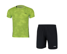 Men's Badminton Uniform [YEL] AATN031-1