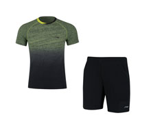 Men's Badminton Uniform [YEL] AATN051-1