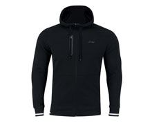 Badminton Clothes - Men's Hoodie Jacket  [BLACK]